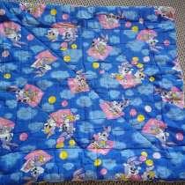 Одеяло детское + подушка холлофайбер, в Омске