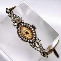 Женские часы LeCoultre (золото+платина) с бриллиантами, в Москве