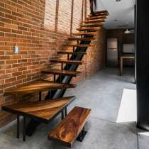 Лестницы из массива и металла на заказ, в Тюмени