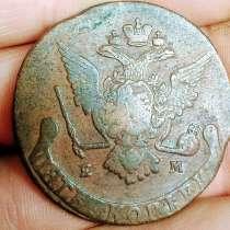 5 копеек 1770 года ЕМ, в Сухом Логе