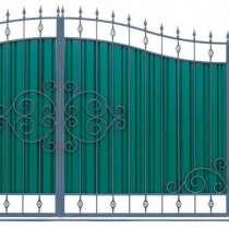 Распашные ворота, в Новосибирске
