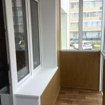 Отделка балконов и лоджий. Ремонт окон, в Иркутске