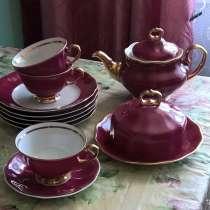 Сервиз чайный Каролина, 80х годов, Польша, в Новосибирске