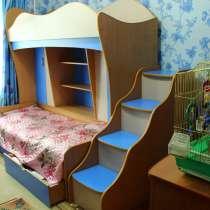 Двухъярусная детская кровать-стенка, в г.Петропавловск