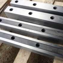 Нож гильотинный по металлу 540*60*16мм для гильотин НД 3314Г, в Уфе