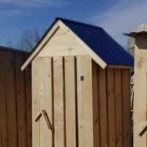 Туалет дачный деревянный, в Кемерове