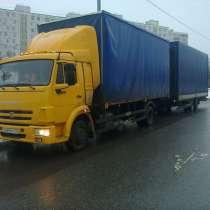 КАМАЗ 4308 Автопоезд, сцепка, в Москве