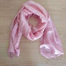Легкий розовый шарфик, в Тюмени