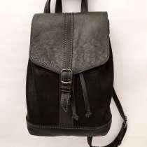 Женский рюкзак из натуральной кожи ручной работы, в Москве