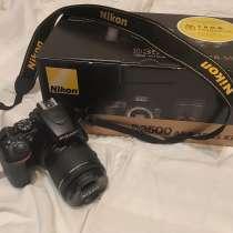 Зеркальный фотоаппарат d3500, в Санкт-Петербурге
