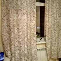 Продаю шторы 600руб шелк плотные 2.40*1.20 2шт, в Адлере