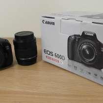 Фотоаппарат CANON 600D, в Уфе