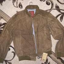 Куртка кожа замша натуральная размер 52, в Москве