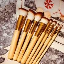 Бамбуковые кисти для макияжа, в Москве