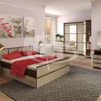 Кровать Сакура на 1,4 м Венге/Белфорд, в Кемерове