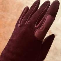 Перчатки женские, длинные, замша, в Москве