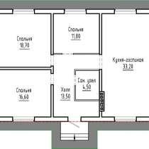 Пригород Краснодара. Продам дом 98 кв. м, в Краснодаре