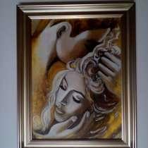 Интерьерная картина Любовь (живопись масло, акрил), в Москве