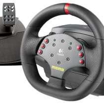 Игровой руль и педалиLogitech MOMO Racing Force Feedback Whe, в Шелехове