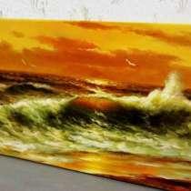 Балтийское море,60х120см, картина маслом, Художник, живопись, в Москве