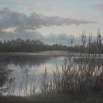 Продам картину художника А. Зайцева Закат на реке, в г.Ужгород