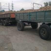 Манипулятор с прицепом. Доставка грузов манипулятором, в Ростове-на-Дону