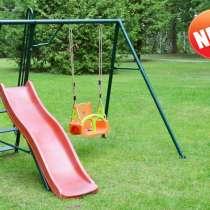 Качели детские садовые с горкой новые, в Краснодаре