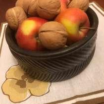 Керамическая ваза для фруктов. Винтаж, 1983 г, в Москве
