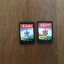 Игры для Nintendo switch Pokémon sword, shield expansion pas, в Подольске