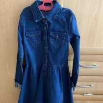 Платье джинсовое для девочки, в Ярославле