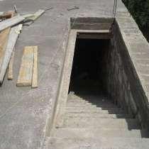 Погреб монолитный, фундамент монолитная плита, смотровая яма, в Красноярске