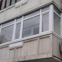 Остекление балконов и лоджий, в Красноярске