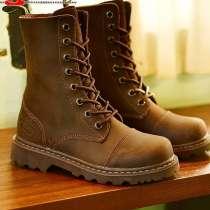 Продаю ботинки новые из натуральной кожи, в Москве
