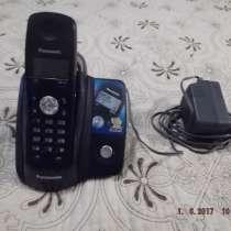 Телефон беспроводной цифровой Panasonic с аон б/у, в Краснодаре