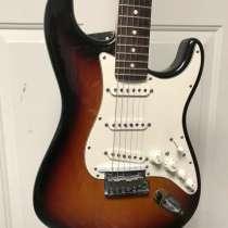 Гитара Fender VG Stratocaster Sunburst (SSS), в Москве