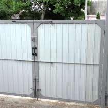 Ворота распашные без калитки под ключ 3 на 1,5 метра, в г.Лондон