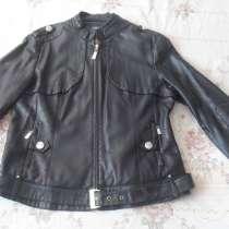 Куртка-косуха (весна-осень), зам. кожа, в Анжеро-Судженске