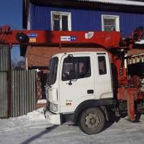 Услуги кран борта, манипулятора, bobcat бобкат бобкет бобкэт, в Иркутске
