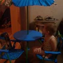 Набор детской мебели для дачи, в Бийске