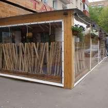 Шторы для веранд и террас кафе и ресторанов по Краснодару и, в Краснодаре