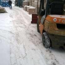 Отвал для очистки снега к вилочному погрузчику, в г.Заславль