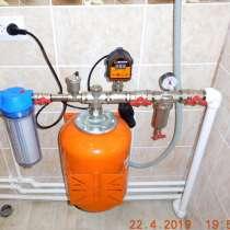 Отопление и водоснабжение дачного дома, в Омске