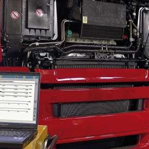 Компьютерная диагностика грузовых авто, в Томске
