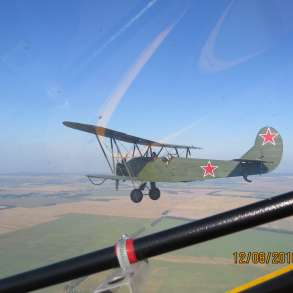 Самолет у-2, в Москве