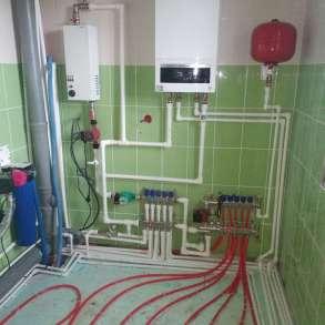 Монтаж отопления водоснабжения в коттеджах, в Екатеринбурге