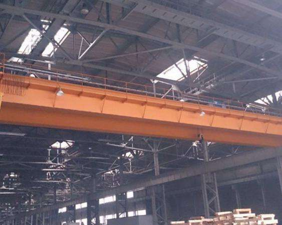 Ремонт мостового крана.