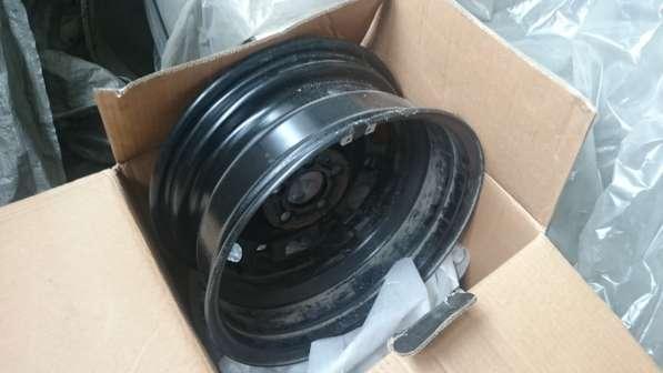 Продам штампованный комплект дисков со Skoda Fabia