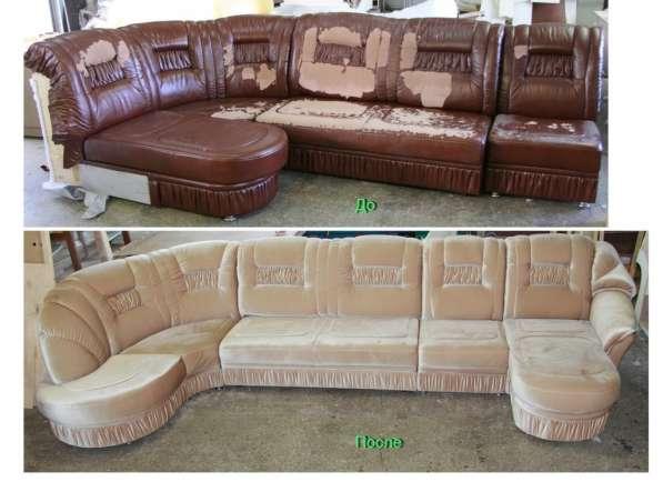 Реставрация, перетяжка мягкой мебели