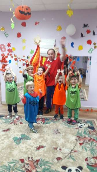 Впервые в России футбол с 2 лет экипировка в Лесном Городке фото 10