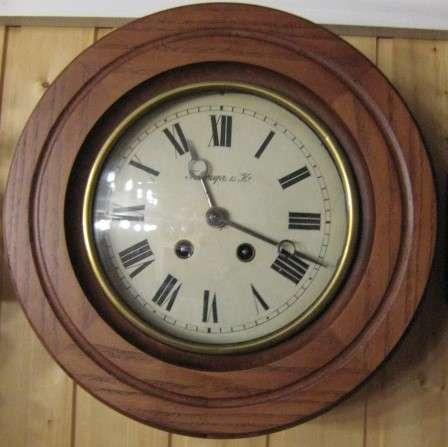 Часы Г. Мозер настенные